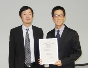 with Dr,Yamasaki
